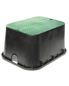 "Valve Box & Lid Rectangular- 14"" X 19"" X 12"" Deep"