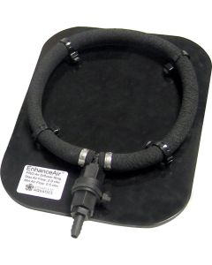 "Enhanceair™ Pro Diffuser Ring Assembly - 8"" Weighted W/ Base Plate"