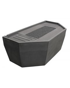Pondbuilder Basin Only For Small & Medium Formal Falls W/ Splash Mat