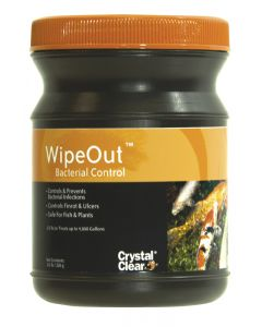 Crystalclear Wipeout Bacterial Remover 8 Oz
