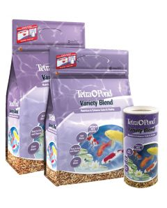 Tetra Pond Variety Blend Food