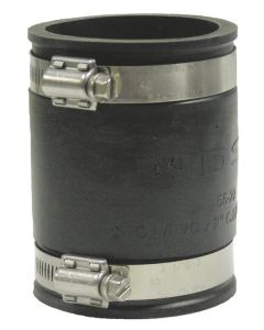Rubber Coupling W/ Stainless Steel Clamps