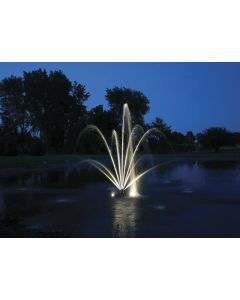 Kasco Xstream Fountain Led 8 Puck Light Kit - White, Blue, Red, Green Or Amber