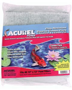 "Acurel Media Pad - Fits All 12"" X 12"" Danner Pond Filters"