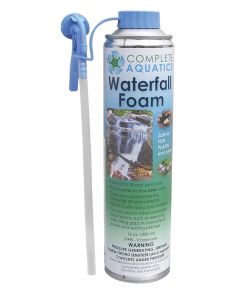 Complete Aquatics Black Waterfall Foam - Diy 16 Oz