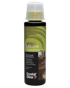 Crystal Clear Sublime Fountain Limescale Remover 8 oz