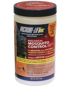 Microbe-Lift Liquid Mosquito Control 6 Oz - Treats 2,000 Gal. For 16 Mos