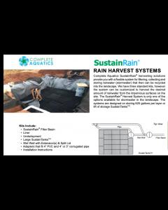 Complete Aquatics Sustainrain® Rain Harvest System