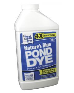 Natures Blue Pond Dye, Quart - Ready To Use Concentrate - 530099