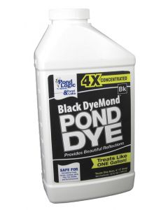 Black Dyemond Pond Dye, Quart - Ready To Use Concentrate - 530101